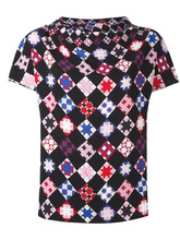 Emilio Pucci | блузка с мозаичным принтом Emilio Pucci | Clouty