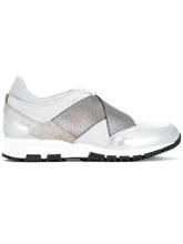 LANVIN | кроссовки с перекрещивающимися ремешками   Lanvin | Clouty