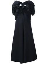 Junya Watanabe | структурированное платье-шифт Junya Watanabe Comme Des Garcons | Clouty