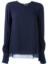 3.1 Phillip Lim | блузка с драпированными рукавами 3.1 Phillip Lim | Clouty