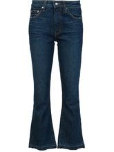 Derek Lam 10 Crosby | расклешенные укороченные джинсы  Derek Lam 10 Crosby | Clouty