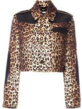 GIVENCHY | куртка с леопардовым принтом Givenchy | Clouty