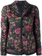 Comme Des Garçons   стеганый пиджак с цветочным принтом Comme Des Garcons   Clouty