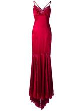 Dolce & Gabbana   вечернее платье с кружевной отделкой Dolce & Gabbana   Clouty