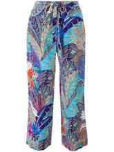 Etro | брюки прямого кроя с принтом Etro | Clouty