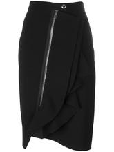 GIVENCHY | асимметричная юбка с оборками Givenchy | Clouty