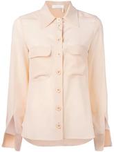 Chloé   блузка с разрезами у манжетов Chloe   Clouty