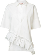 Marni | асимметричная рубашка с оборками Marni | Clouty