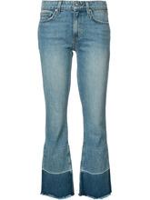 Derek Lam 10 Crosby | слегка потертые укороченные джинсы Derek Lam 10 Crosby | Clouty