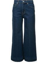 Derek Lam 10 Crosby | широкие джинсы Derek Lam 10 Crosby | Clouty