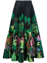Manish Arora | длинная юбка 'Safari' Manish Arora | Clouty