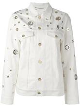 KENZO | джинсовая куртка с декоративными люверсами Kenzo | Clouty
