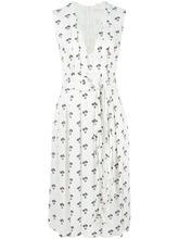 Victoria Beckham | платье с цветочным узором Victoria Beckham | Clouty