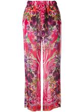 Etro | шелковые брюки с цветочным принтом Etro | Clouty