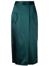 Dion Lee | юбка с эффектом запаха Dion Lee | Clouty