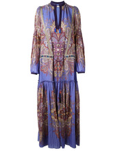 Etro | платье макси с узором пейсли Etro | Clouty