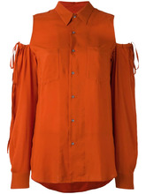 A.F.Vandevorst | блузка с вырезными деталями на плечах A.F.Vandevorst | Clouty