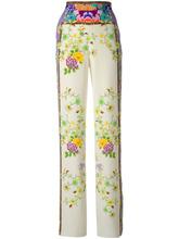 Etro | брюки с цветочным принтом   Etro | Clouty