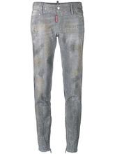 DSQUARED2   джинсы скинни с заклепками Dsquared2   Clouty