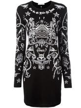 GIVENCHY | платье с принтом татуировок Givenchy | Clouty