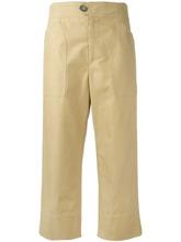 Isabel Marant   укороченные прямые брюки Isabel Marant   Clouty