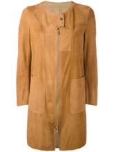 Sylvie Schimmel | пальто лоскутного кроя с кнопочной застежкой | Clouty