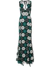 Zac Zac Posen | вечернее платье 'April' с цветочной вышивкой Zac Zac Posen | Clouty