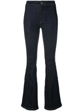 GIVENCHY | слегка расклешенные джинсы Givenchy | Clouty
