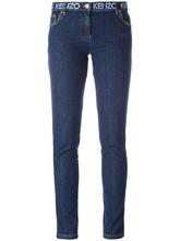 KENZO | джинсы кроя слим с принтом на поясе Kenzo | Clouty