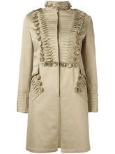 Ermanno Scervino | пальто с плиссированными деталями Ermanno Scervino | Clouty
