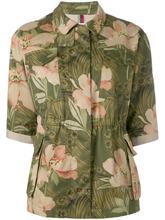 MONCLER | блузка с цветочным принтом Moncler | Clouty