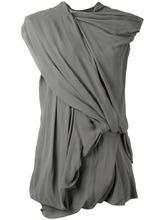 RICK OWENS | драпированное платье Rick Owens | Clouty