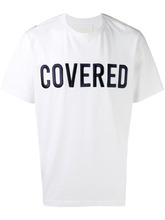Juun.J | футболка с нашивкой 'Covered' Juun.J | Clouty