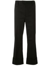 DSQUARED2 | укороченные классические расклешенные брюки  Dsquared2 | Clouty