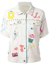 P.A.R.O.S.H. | пиджак с вышивкой P.A.R.O.S.H. | Clouty