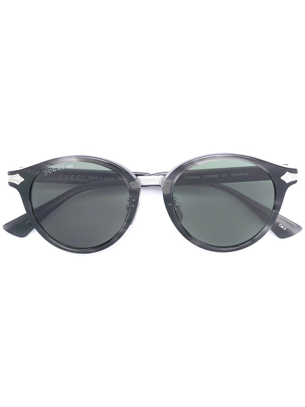 GUCCI | солнцезащитные очки с круглой оправой | Clouty