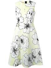 Marni | платье клеш с цветочным мотивом Marni | Clouty