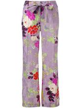 Etro | расклешенные брюки с цветочным рисунком Etro | Clouty