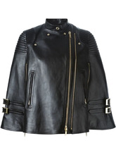 GIVENCHY | накидка в байкерском стиле Givenchy | Clouty