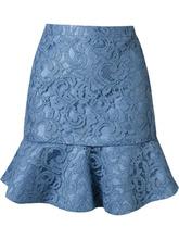 Martha Medeiros | кружевная юбка 'marescot' с рюшами по подолу | Clouty