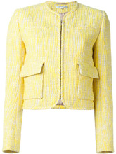 CARVEN | твидовый пиджак с накладными карманами Carven | Clouty