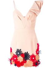 Emanuel Ungaro | платье с цветочной аппликацией  Emanuel Ungaro | Clouty