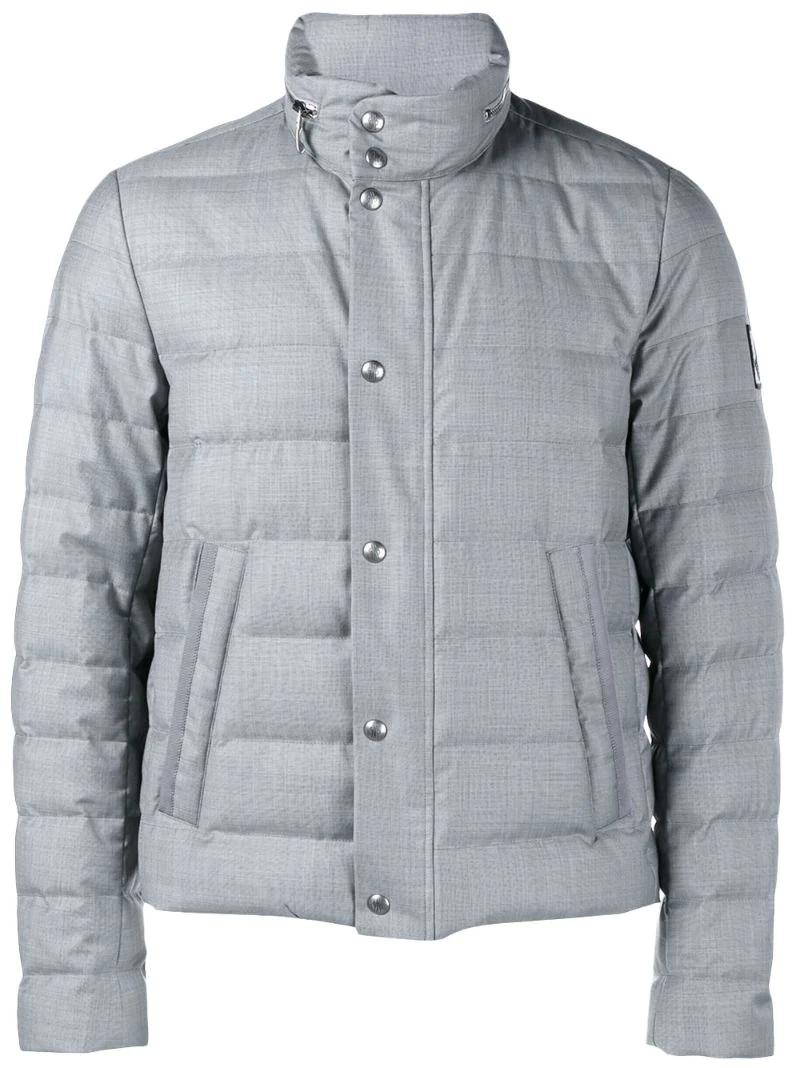 Moncler Gamme Bleu   Серый стеганая куртка Moncler Gamme Bleu   Clouty ... 7e40c727e84
