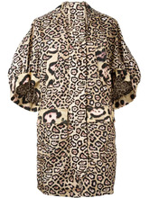 GIVENCHY | пальто с леопардовым принтом  Givenchy | Clouty