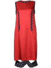 Maison Margiela | платье с контрастной окантовкой Maison Margiela | Clouty