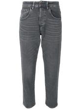 6397 | укороченные зауженные джинсы | Clouty
