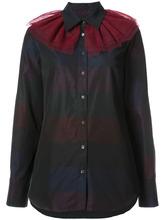 Osman | полосатая рубашка с оборками на горловине Osman | Clouty