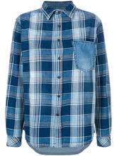 Current/Elliott   джинсовая рубашка в клетку  Current/Elliott   Clouty