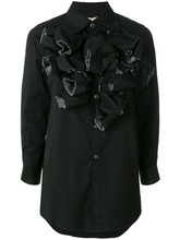 Comme Des Garçons | платье-рубашка с оборкой  Comme Des Garcons | Clouty
