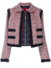 Moncler Gamme Rouge | укороченный пиджак на пуховой подкладке Moncler Gamme Rouge | Clouty